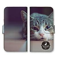iPhone11 Pro 手帳型 スマホ ケース カバー スマホケース スマホカバー ネコ だるい 写真 アイフォン11 アイフォンイレブン 22191