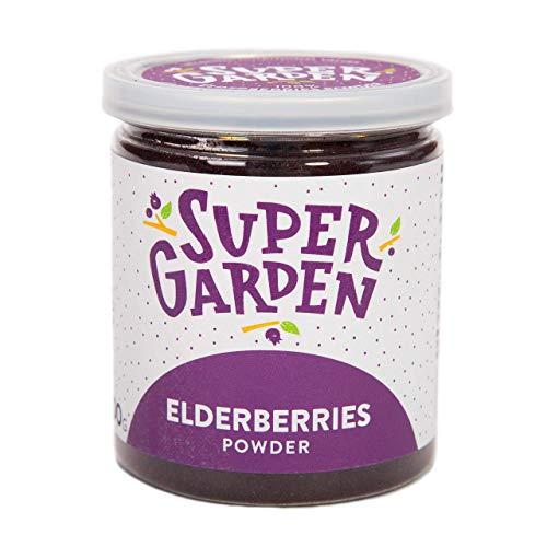 Supergarden baya de saúco liofilizada en polvo - Producto 100% puro y...