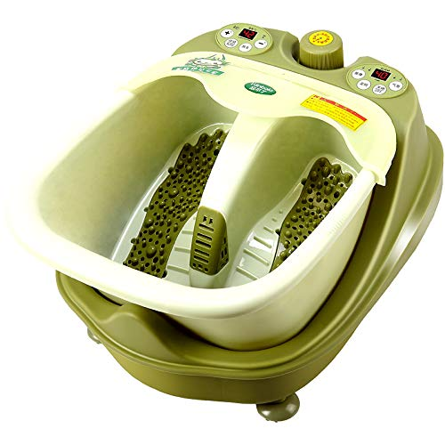 Fantastic Deal! Foot Tub, Automatic Footbath, Electric Massage Heating Home Pedicure Machine, Tatic ...