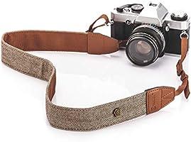 TARION Camera schouderriem camerariem camera draagriem Bohemian nekband camera band nek camera nek riem voor Canon Fuji...