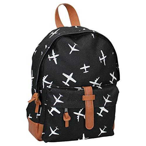 Kidzroom Black & White - sac à dos - Avec l'impression de votre héros préféré! - idéal pour le jeune aventurier