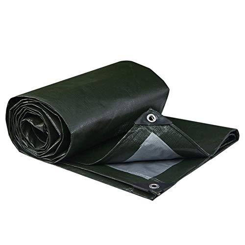 JT- Antipluie Tissu épais crème Solaire Pluie Camion Ombre Tissu Strip Plastique Couleur extérieure Tissu imperméable Toile avec Corde d'hiver est Pas Difficile Durable (Size : 12 * 10m)