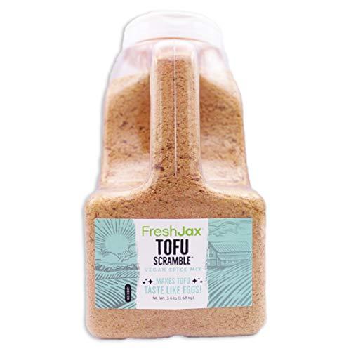 FreshJax Premium Gourmet Spices and Seasonings, Tofu Scramble Spice Mix (4.8oz Large Bottle)