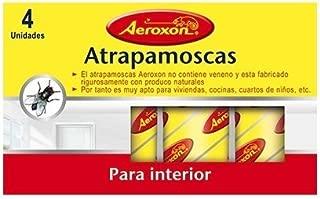 AEROXON - Tiras atrapamoscas para interior (Pack de 4 uds