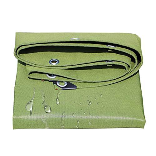 Dall bâche Bâche en Plein Air Épais Toile Toile D'ombre Imperméable Multifonction 600g / M² (Couleur : Vert, Taille : 3×4m)