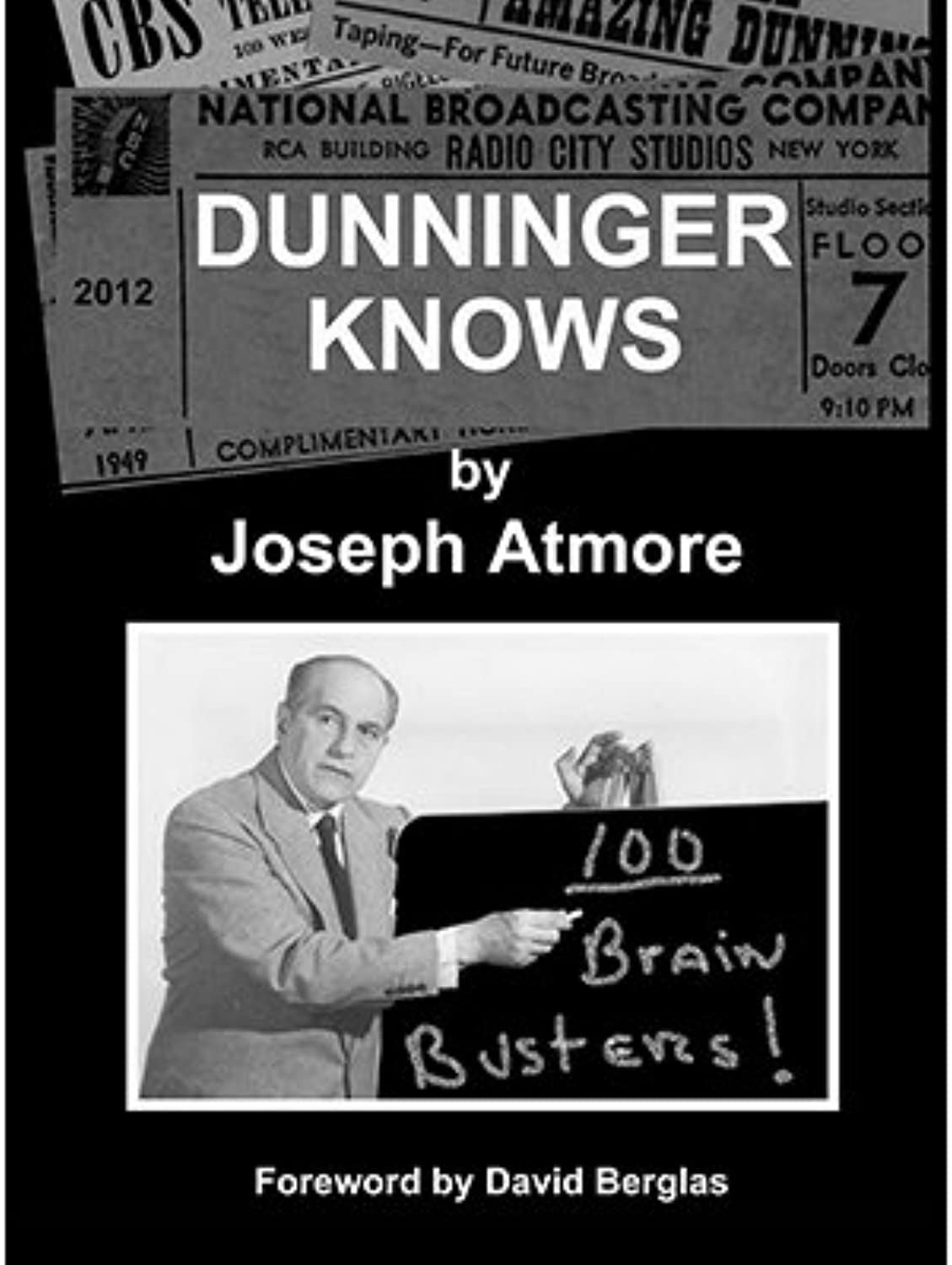 Dunninger Knows by Joseph Atmore  Book