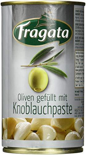 Fragata Spanische Oliven grün, mit Knoblauch (1 x 150 g)