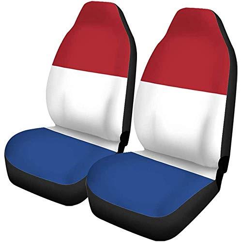 Autostoelhoezen Nederlands Nederlands Natie Vlag Vier Viering Kleur Grondwettelijk Land Set van 1 Beschermers Auto