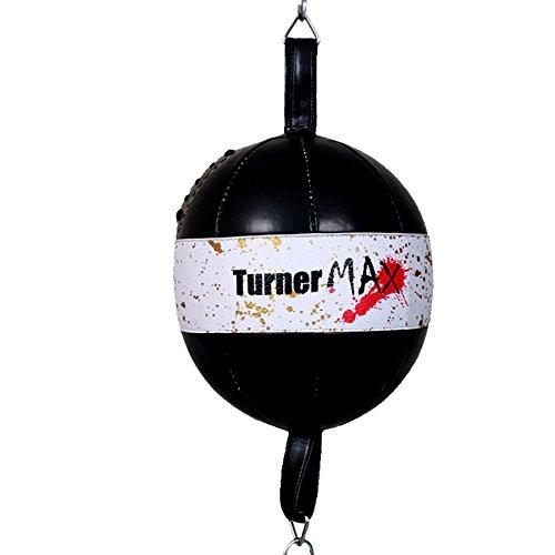 TurnerMAX–pera de Doble Final DBALL Punching Boxeo formación Ejercicio Artes Marciales Mixtas Carcasa de Artes Marciales