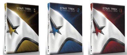 Star Trek - The Original Series, Staffel 1-3 [23 DVDs] [UK Import]