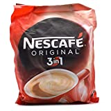 Nescafe 3 in 1 white and creamy Coffee creamer from the highlands Lampung Produce flavor and aroma are more stable, and suitable enjoyed Can be presented for 30 cups; made from the best Indonesian Robusta Coffee Smooth instant coffee premix