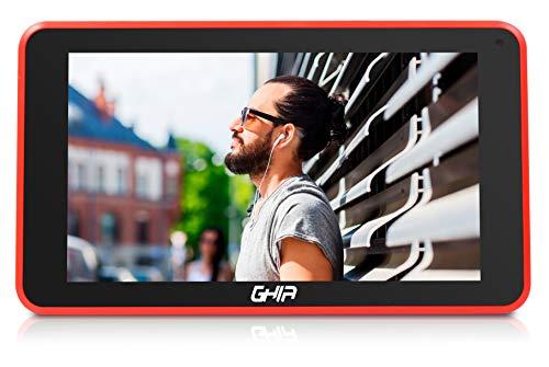 GHIA Tablet A7 WiFi T7718N / Quad Core / 1GB de RAM / 8GB de Almacenamiento / 2 Cámaras/WiFi/Android 8.1…