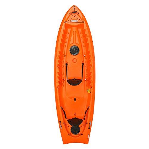 "Lifetime Kokanee Sit-On-Top Kayak, Orange, 10'6"""