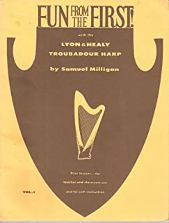 Fun From the First w/ the Lyon & Healy Troubadour Harp VOL 1 & 2