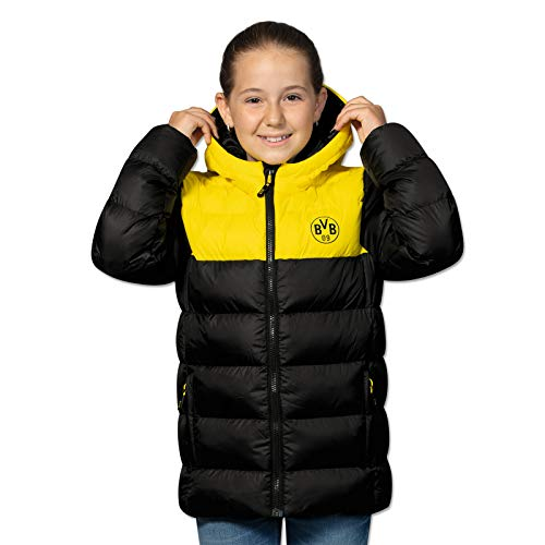 BVB-Winterjacke schwarz/gelb für Kinder 140