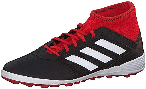 adidas Herren Predator Tango 18.3 Tf Fußballschuhe, Schwarz (Negbás/Ftwbla/Rojsol 001), 42 EU