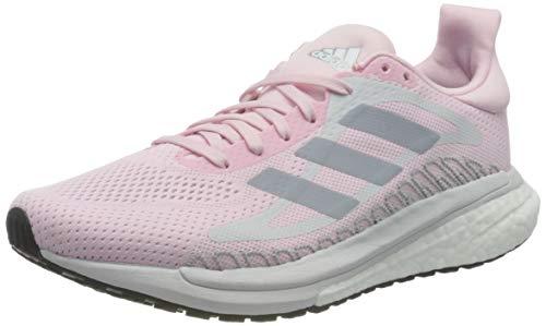 adidas Glide ST 3 W, Zapatillas de Running Mujer, Fresh Candy Halo Silver Solar Red, 37 2/3 EU
