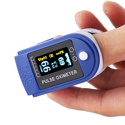 SureShop 50D Precision Finger Pulse Oximeter