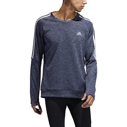 adidas Own The Run Crew Sweatshirt, Tech Ink/Night Marine, Medium