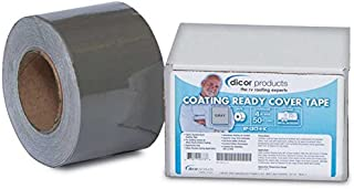 """Dicor RP-CRCT-4-1C 4""""X50' Coating Ready Cover Tape"""