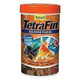 Tetra Goldfish Flakes 2.2 Ounces, Balanced Diet, Clear Water Formula