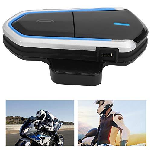 Auriculares Bluetooth del Casco, intercomunicador Bluetooth 4.1 2.4GHz de Bluetooth de una eficacia más Alta para la Motocicleta