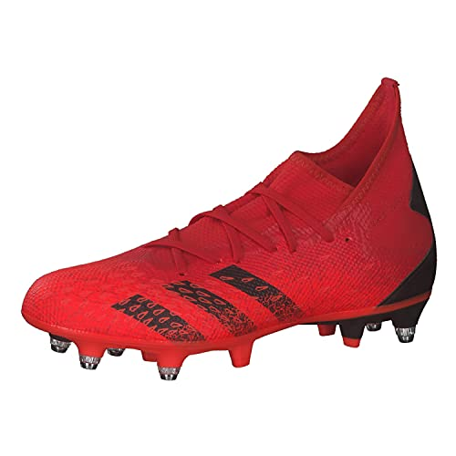 adidas Predator Freak .3 SG, Zapatillas Deportivas Hombre, Rojo NEGBÁS Rojsol, 42 EU