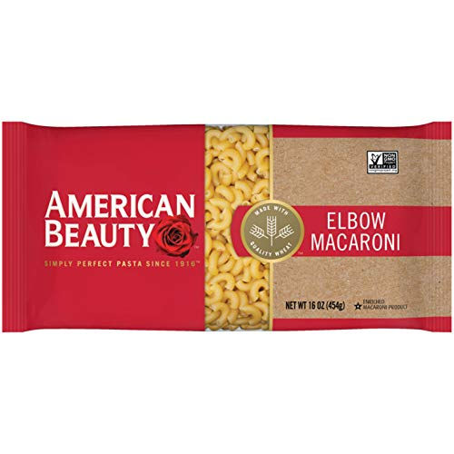 American Beauty Elbow Macaroni Pasta, 16 oz Bag