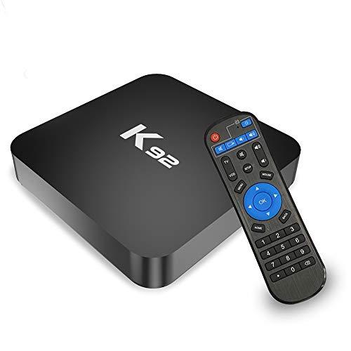 Android 8.1 TV Box, SAMMIX K92 Smart TV Box 4GB+32GB Amlogic S905X2 Quad-Core 64bit Cortex-A53 with Dual-WiFi 5G/2.4G, 3D 4K Ultra HD/Gigabit Ethernet/BT 4.1/USB 3.0 Streaming Media Player Media Players Streaming