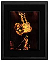 Led Zeppelin - Jimmy Page Earls Court London May 18 1975 Framed Mini Poster - 44x34cm