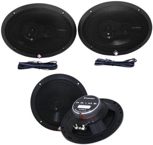 Rockford Fosgate R1653 6.5-Inch Prime Series 3 Way Full-range Car Speakers