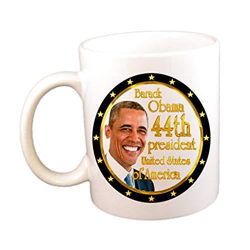 N\A Taza de café del 44.o Presidente de EE. UU. De Barack Obama (11 oz)