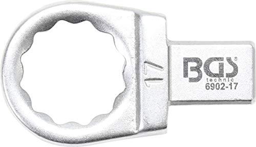BGS 6902-17 | Clé annulaire | 17 mm | Empreinte 9 x 12 mm