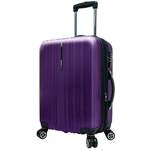 Traveler's Choice Tasmania Valise Extensible 100 % Polycarbonate, Violet (Violet) - TC5000