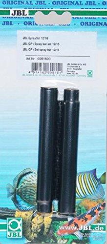 JBL 6091500 Wasserauslauf-Set mit 2-teiligem Düsenstrahlrohr für Innenfilter von Aquarien, SpraySet 12/16 (CPI)