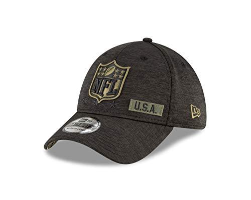 New Era NFL Logo - 39thirty Cap - Salute to Service 2020 - Black - S-M (6 3/8-7 1/4)