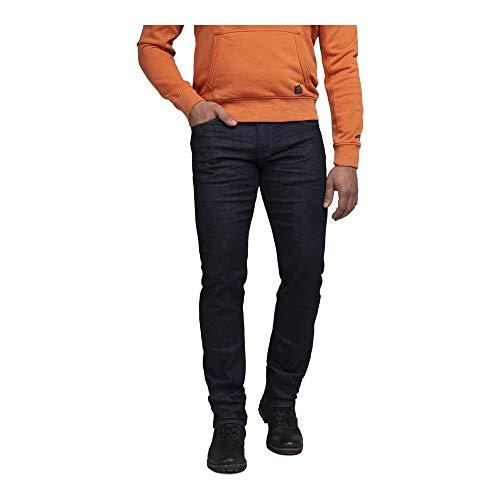 PME Legend Herren Jeans Nightflight Low Rinsed Washed dunkelblau - 31/32