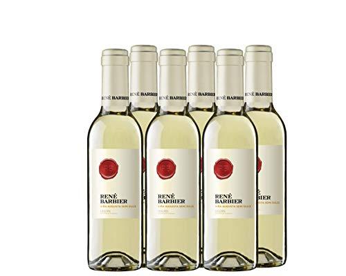Rene Barbier Viña Augusta - Vino Blanco Semi Seco - pack de 6 de 370 ml - Total: 2220 ml