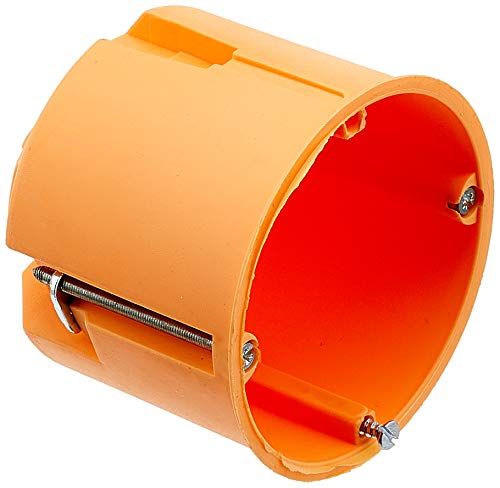 Blass Elektro 22052 Tiefraumhohlwanddose 60 mm orange, 25er Pack