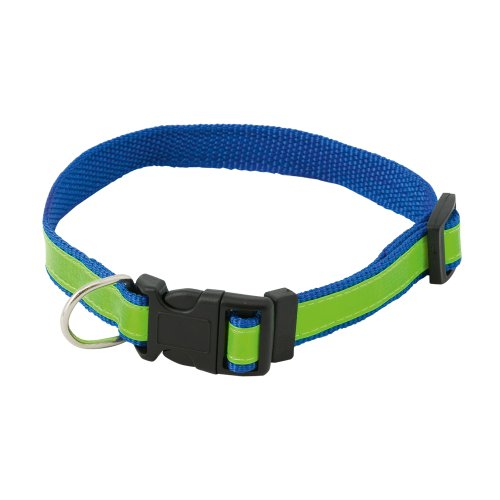 eBuyGB Collier de sécurité réglable réfléchissant pour Chien Bleu Haute visibilité
