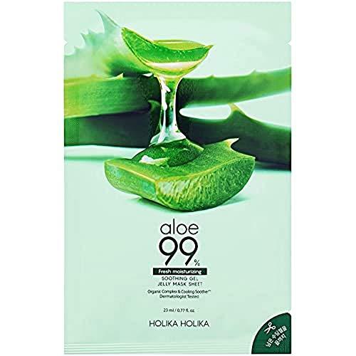 Holika Holika Aloe 99% Soothing Gel Jelly Mask Sheet, 23 ml 20016291