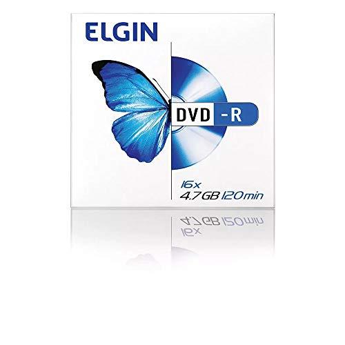 Dvd Gravável, Elgin, Dvd-R, 4,7gb, 120 Minutos, 16x