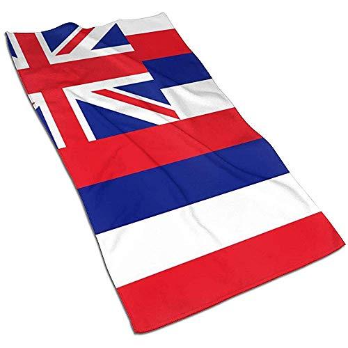Toallas de baño con la bandera del estado de Hawái -