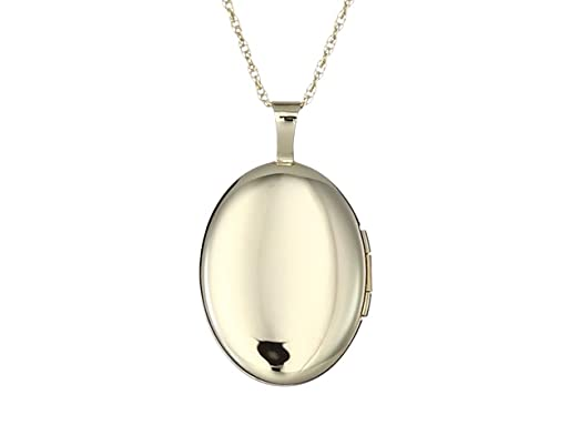 Necklace Pendant Charm Bails Findings for Jewelry Making 18K Gold Filled Oval Spring Time Photo Locket Minimalist Flower