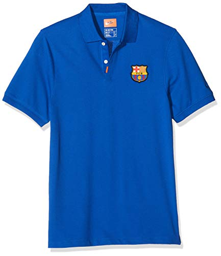 NIKE FC Barcelona Polo Men, Hombre, Azul (Sport Royal/Sport Royal), XL
