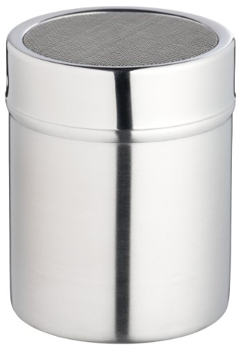 KitchenCraft Stainless Steel Fine-Mesh Flour Sifter / Icing Sugar Shaker