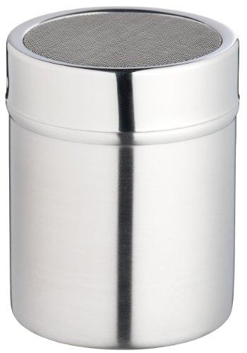 Kitchen Craft Espolvoreador de Acero INOX. con Parte Superior de Malla Fina