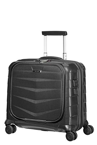 SAMSONITE Lite-Biz - Spinner with USB Port Laptop Rollkoffer, 44 cm, 30 Liter, Black