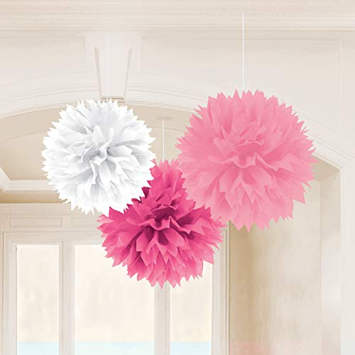 amscan Multi Rose Fluffy Décorations