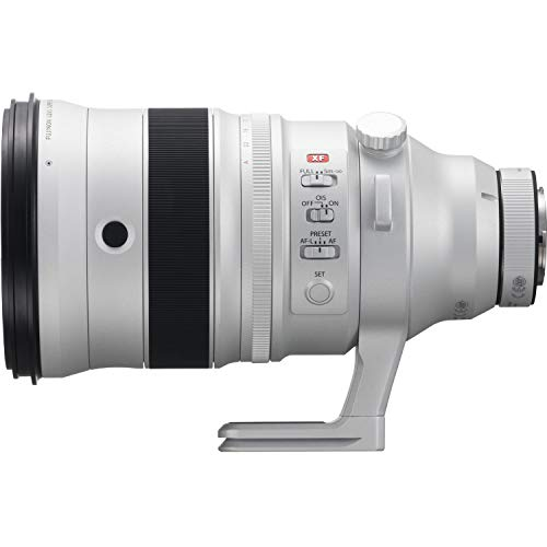 FUJIFILM XF 200mm f/2 R LM OIS WR Lens with XF 1.4X TC F2 WR Teleconverter with All Inclusive Accessory Kit